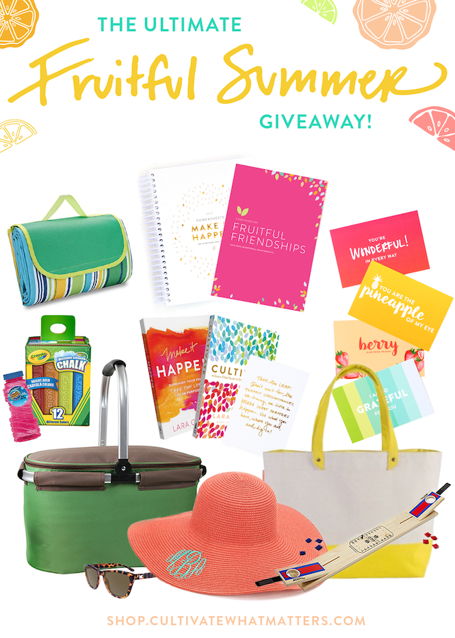 fruitful summer giveaway