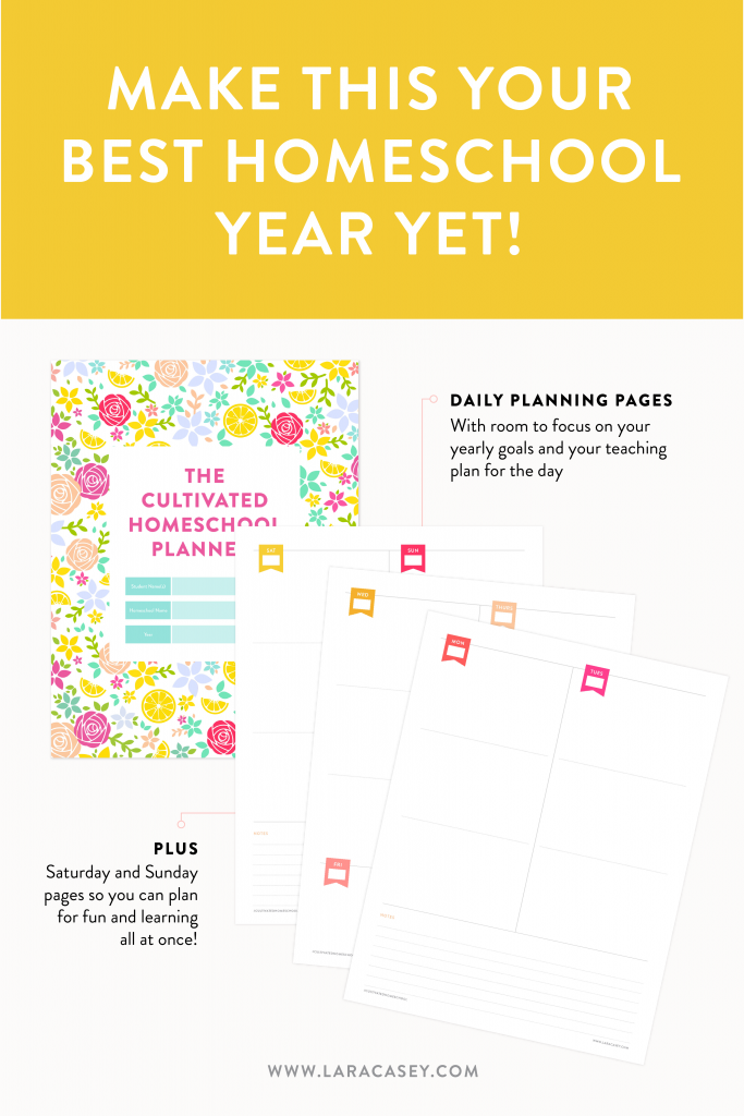 d11ff1a4cb1 So many of you have asked if I was going to do another homeschool planner (I'm  so glad you loved the first one!) and I'm delighted to share that it's HERE!